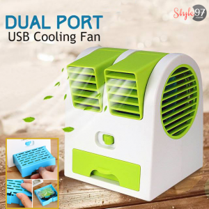 Mini USB Air Conditioner Cooler Fan